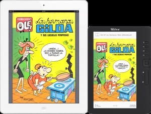 iPad2 & Trekstor (Tamaño Real) con Demo